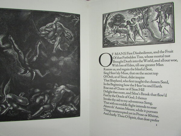 Paradise Lost and Paradise Regained by MILTON, John