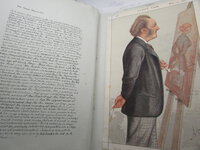 """Vanity Fair. A two volume collection of """"Statesmen"""" and """"Men of the Day"""" by BOWLES, Thomas Gibson (Jehu Junior)"""