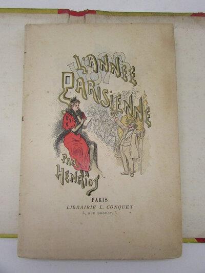 L'Année Parisienne. by HENRIOT