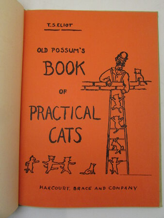 Old Possum's Book of Practical Cats. by ELIOT, T. S.