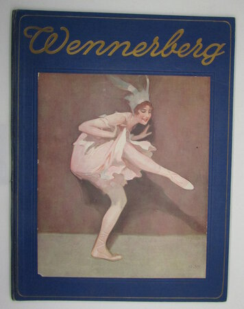 Wennerberg-Album. 20 Farbige Kunstblaetter nach Originalbildern. by WENNERBERG, B.