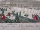 Another image of Vue d'optique of the Royal Palace of Hampton Court. by [ANON]
