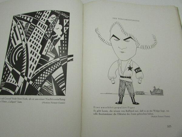 Der Film in der Karikatur. by HEYMANN, Robert