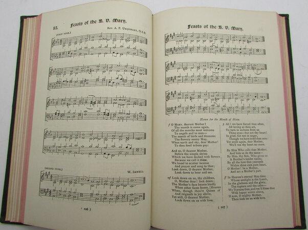Catholic Hymns. Original & Translated with Accompanying Tunes. by EDMONDS TOZER, A.