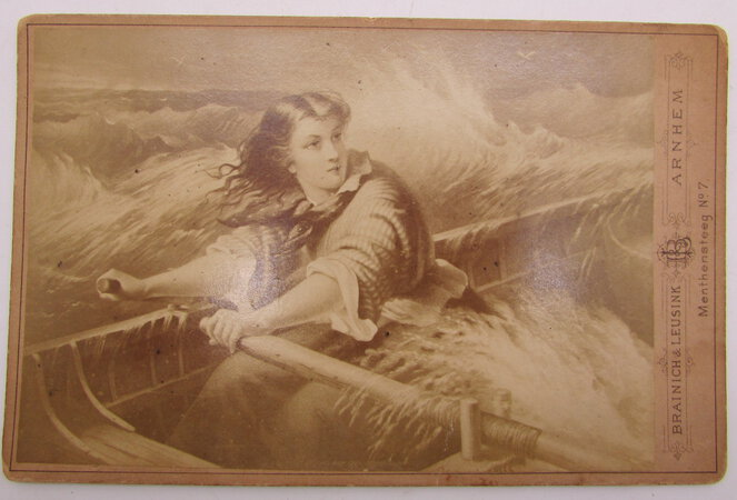 Photograph of the Brooks Portrait of Grace Darling by BRAINICH & LEUSINK