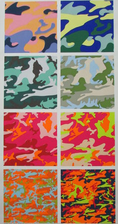 Camouflage. by WARHOL, Andy.
