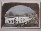 Another image of The Thames frozen over at Richmond. by Anonymous