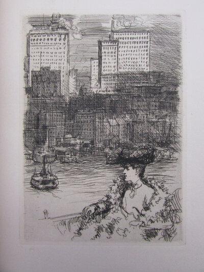 New York. Comme je l'ai vu. by HUARD, Ch.