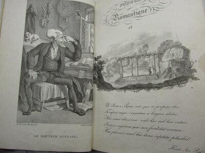 Le Don Quichotte romantique, ou voyage du Docteur Syntaxe, by [COMBE (William)] GANDAIS, M.