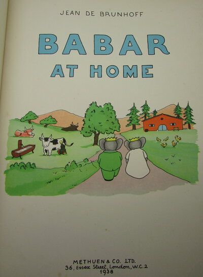 Babar at Home. by BRUNHOFF, Jean de