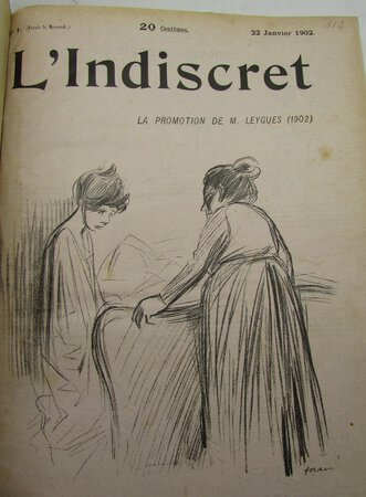 L'Indiscret 26 issues and 4 supplements by BARBAY, Gérant Louis