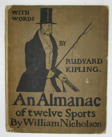 An Almanac of twelve Sports by KIPLING, Rudyard. & Nicholson, William