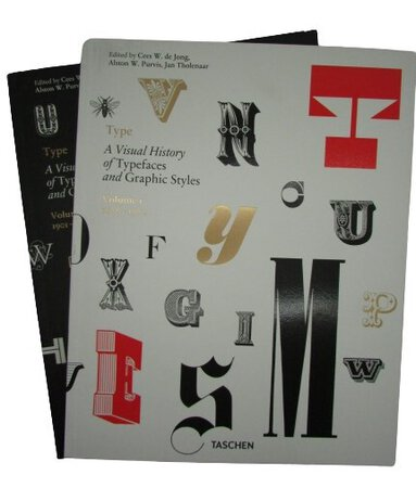 Type: A Visual History of Typefaces and Graphic Styles by de JONG, Cees, W. et al