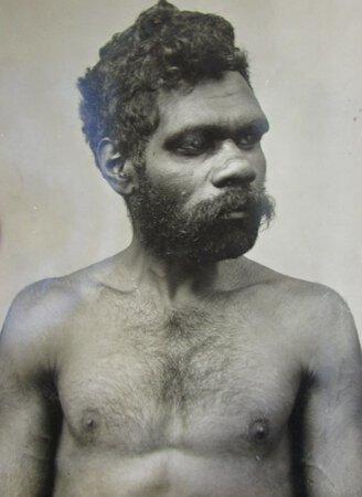 'Gingung' an Australian Aboriginal man by KERRY & Co.