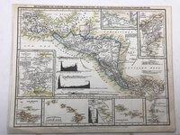 Vulkanreihe von Guatemala, die Landengen von Tehuantepec, Nicaragua und Panama und die Central Vulkane der Süd See, by [ANON]