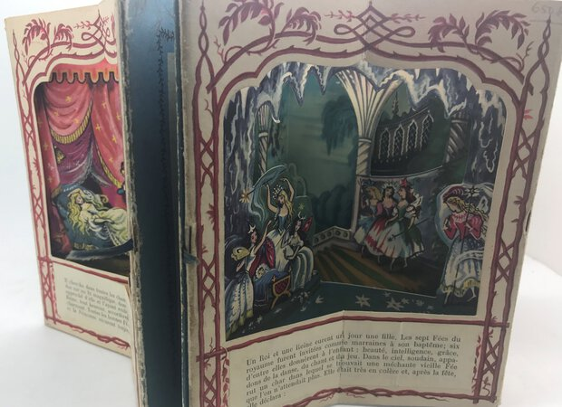 The Sleeping Beauty - A Peepshow Book by PYM, Roland