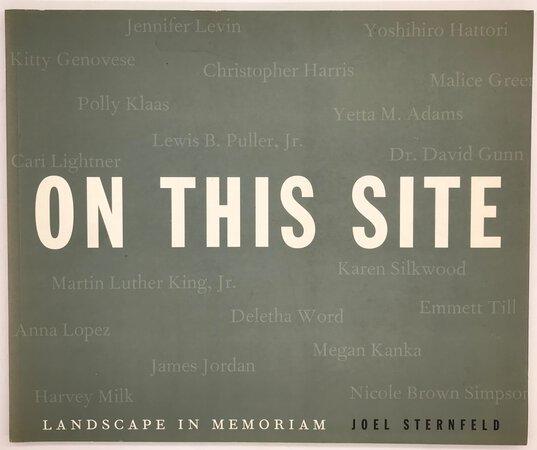 On This Site. by STERNFELD, Joel