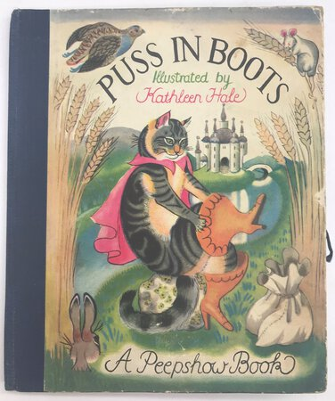 Puss in Boots - A Peepshow Book. by [ANON]