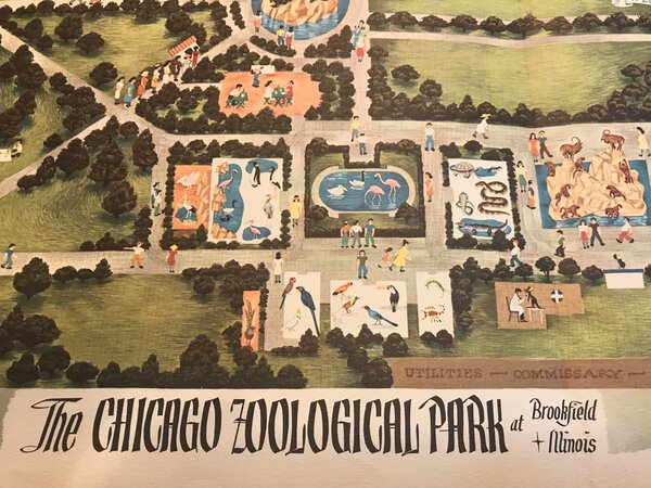 The Chicago Zoological Park - at Brookfield, Illinois by GRAHAM, Ralph