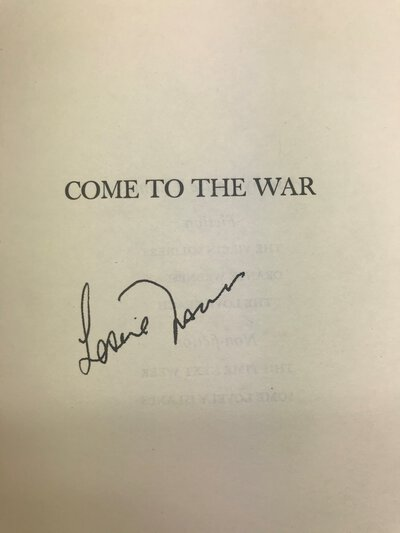 Come to the War by THOMAS, Leslie