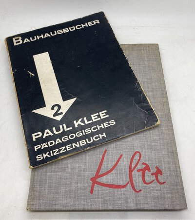 Pädagogisches Skizzenbuch [together with] Pedagogical Sketchbook by KLEE, Paul