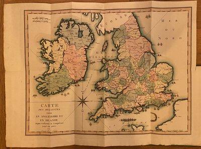 Notice historique des descentes qui ont été faites dans les Isles Britanniques, by [GIRARDIN, Stanislas, comte de]