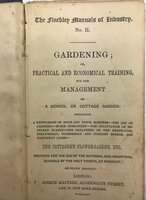 The Finchley Manuals of Industry. No. II - Gardening. by MASTERS, Joseph
