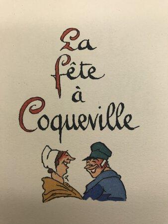 La Fête à Coqueville. by ZOLA, Émile