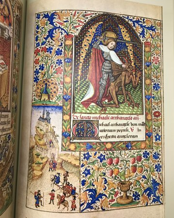 The Book of Hours. With An Historical Survey and Commentary by HARTHAN, John