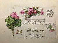 Album Containing 26 Illustrated Colour Belgian Telegrams by [ANON]