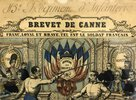 Another image of 19th Century Brevet de Canne. by DIDION, Paulin