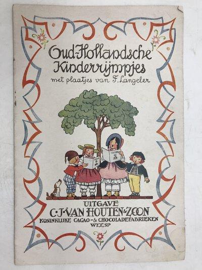 Oud-Hollandsche kinderrijmpjes by LANGERER, F.