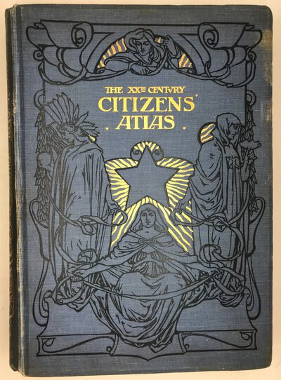 The XXth Century Citizen's Atlas of the World by BARTHOLOMEW J.G.