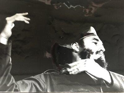 Fidel Castro - original silver gelatin photograph by PIC, Roger