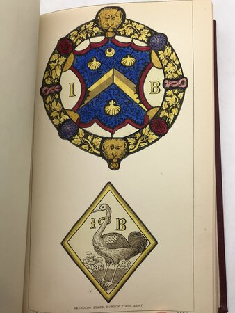 An Inquiry Into The Difference of Style Observable In Ancient Glass Paintings, Especially In England; With Hints On Glass Painting. Part I & Part II. by [WINSTON, Charles] By an Amateur