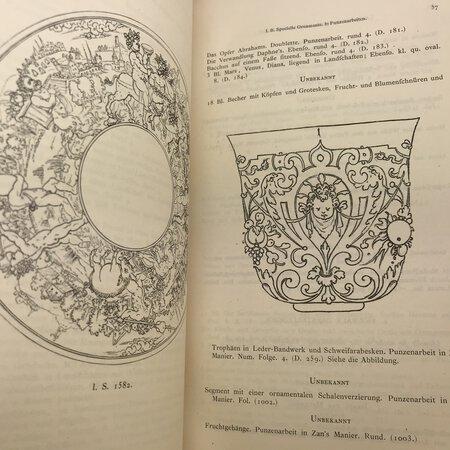 Illustrirter Katalog der Ornamentstichsammlung des K. K. Österreich. by [ANON]