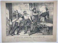 Assassinat du Général Bréa et de son Aide de Camp by [ANON]