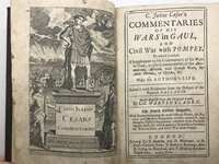 C. Julius Caesar's Commentaries of His Wars in Gaul, and Civil War with Pompey. by CAESAR, C. Julius. - BLADEN, Martin (Trans.)