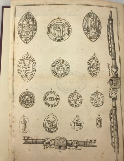 A Dissertation on the Antiquity and Use of Seals in England. by [LEWIS, Reverend John]