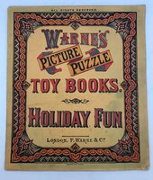 Warne's Picture Puzzle Toy Books. Holiday Fun by [ANON]