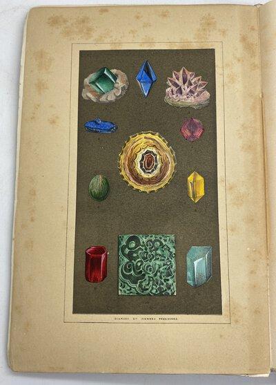 Diamant et pierres Precieuse. Cristallographie - emplois - evaluation - commerce. Bijoux-joyaux - orfevreries au point de vue de leur histoire et de leur travail by FONTENAY, Eugene, JANNETTAZ, Edourad, VANDERHEYM, Emile & COUTANCE, Amedee.