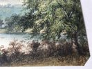 Another image of Original Watercolour: View from Castle at Richmond of the River Swale (North Yorkshire) by [ANON]