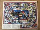 Another image of 'Het Gasspel' / goose game / Jeu de l'oie. A piece of Dutch advertising. by [ANON]