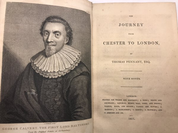The Journey from Chester to London by PENNANT, Thomas