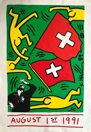 August 1st 1991 by HARING, Keith
