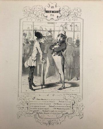 Les Cent et Un Robert-Macaire. Numero 85 - Robert-Macaire aux carreaux by DAUMIER, Honoré