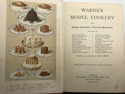 Warne's Model Cookery and Housekeeping Book by JEWRY, Mary