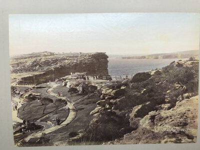 Set of five original early photographic prints of Australia and New Zealand in late 1800's by [VARIOUS]