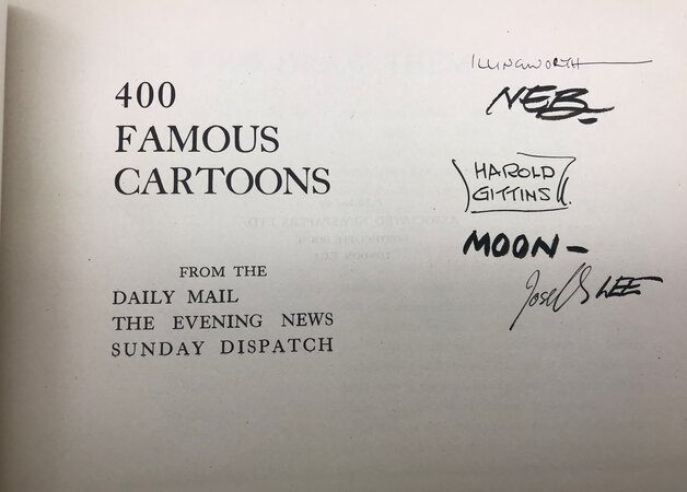 400 Famous Cartoons from the Daily Mail, The Evening News, Sunday Dispatch by Various