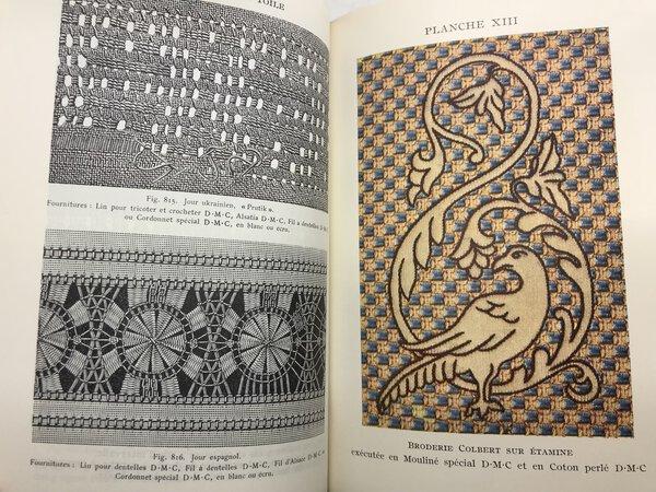 Encyclopédie des ouvrages de dames by DILLMONT, Thérèse de